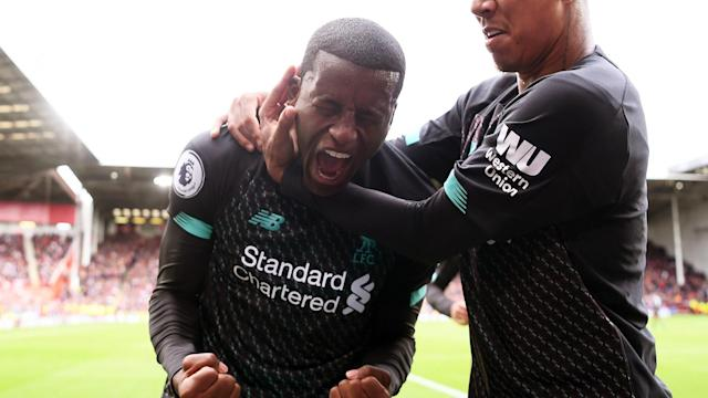 The Reds are eight points clear at the top of the Premier League table but their Dutch midfielder has pointed out that there is still a long way to go