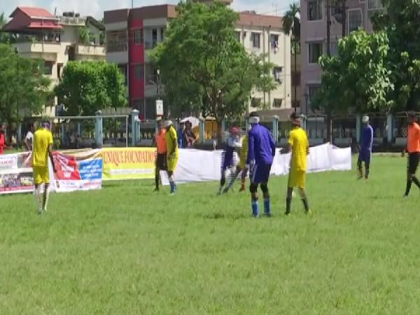 A state-level football tournament was organised for visually impaired players in Siliguri.