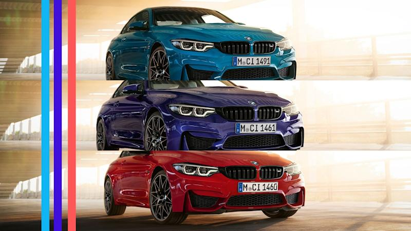 BMW M4 Heritage Limited Edition