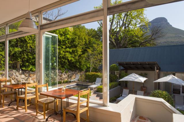 Views from the dining area at Four Rosmead. [Photo: Four Rosmead]