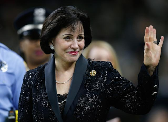 Fair or not, the perception that Gayle Benson cares more about the Saints than the Pelicans is and will be a problem for her NBA franchise. (Getty)