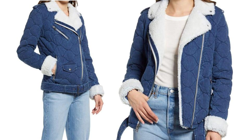 This throwback jacket from Levi's is camera-ready.