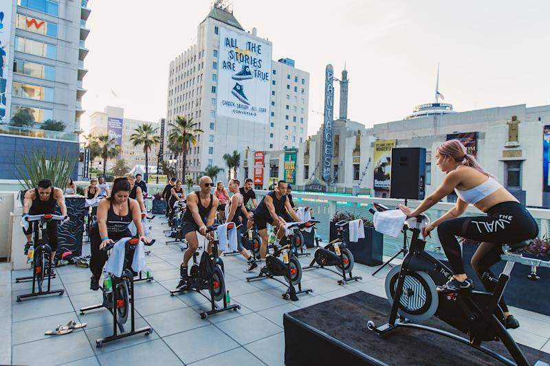 This is what actually goes down at a fitness festival