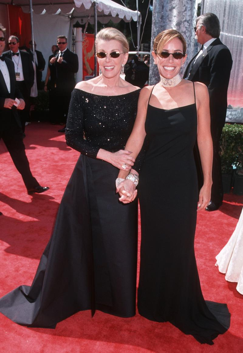 Joan Rivers and Melissa Rivers during the 51st Annual Emmy Awards. (Ron Galella, Ltd./WireImage)