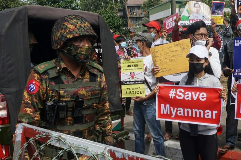 Myanmar has been plunged into an overnight internet blackout two nights in a row as the ruling junta escalates its crackdown on anti-coup protests