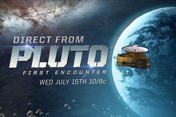 """""""Direct from Pluto: The First Encounter"""" will air the first up-close images of the dwarf planet on the Science Channel on July 15, 2015."""