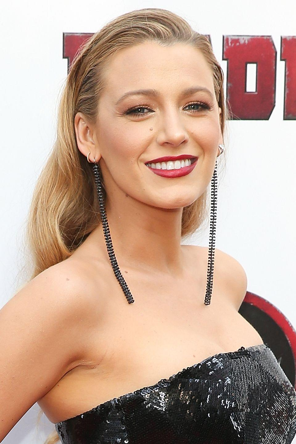 """<p>Copy Blake Lively's trick to keeping loose waves off your face by lightly slicking back your roots. Try L'Oreal Professionnel's <a href=""""https://www.lookfantastic.com/l-oreal-professionnel-tecni.art-pli-shaper-190ml/12049023.html"""" rel=""""nofollow noopener"""" target=""""_blank"""" data-ylk=""""slk:Techni Art Pli"""" class=""""link rapid-noclick-resp"""">Techni Art Pli</a>, £11.50.</p>"""