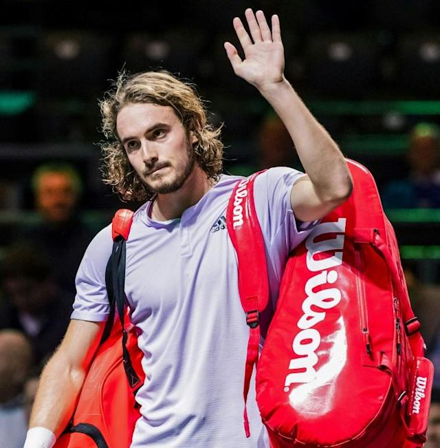 Tsitsipas has lost more matches than he has won in 2020 (AFP Photo/Koen SUYK)