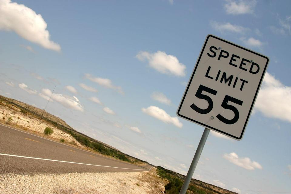 <p>Back in 1974, President Richard Nixon put in the National Speed Limit of 55 mph, according to the National Safety Council, this measure helped the number of traffic fatalities decrease. But Sammy Hagar wrote a whole song about how he couldn't drive 55. But we're guessing he's happy now as in most states the average speed limit on highways is 65, and in some places even higher.<br></p>