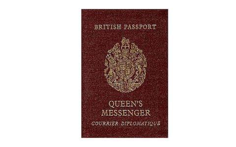 The Queen's Messenger passport