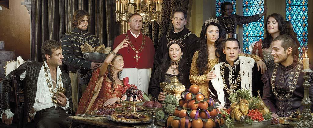 """<a href=""""/the-tudors/show/37709"""">The Tudors</a>, returning March 2008 to Showtime."""