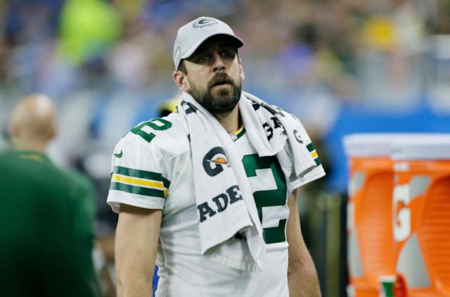 "Aaron Rodgers is a longtime ""Game of Thrones"" fan. He was not a fan of the show's ending. (AP Photo/Duane Burleson)"