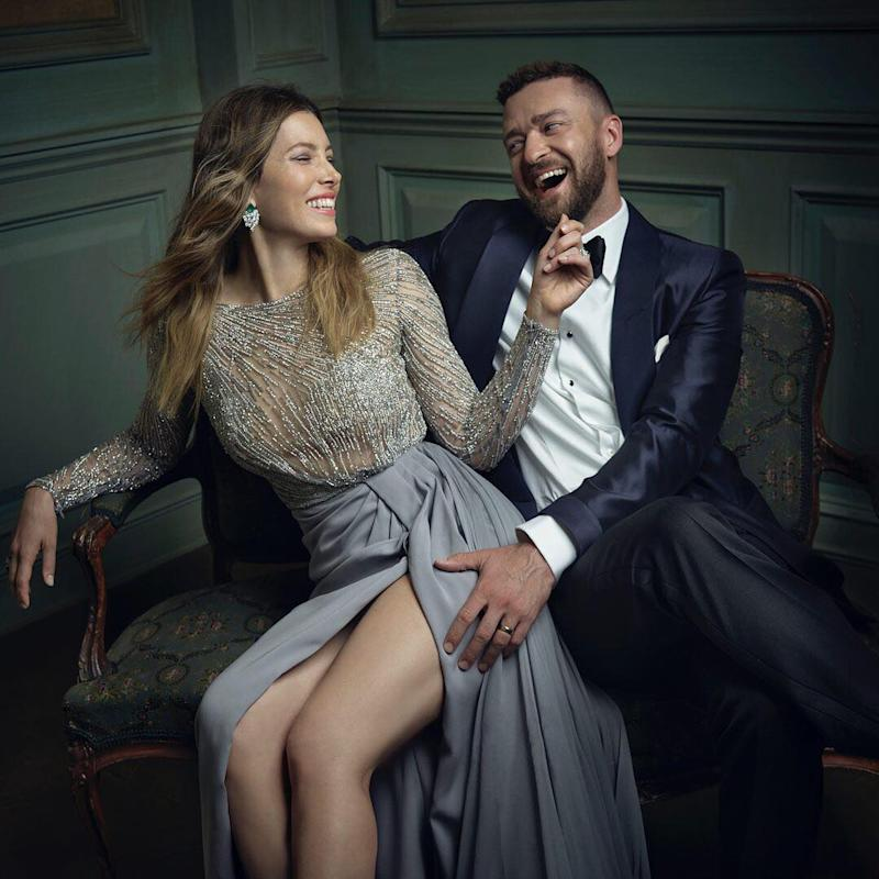 Justin Timberlake and Jessica Biel Are Adorably All Over Each ...