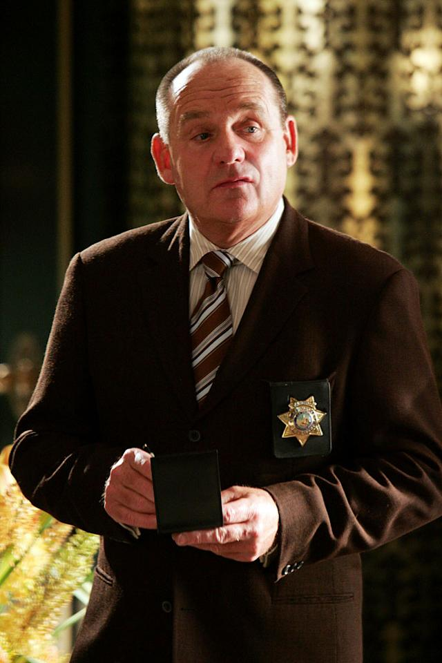 "Paul Guilfoyle stars as Captain Brass in ""CSI: Crime Scene Investigation."""