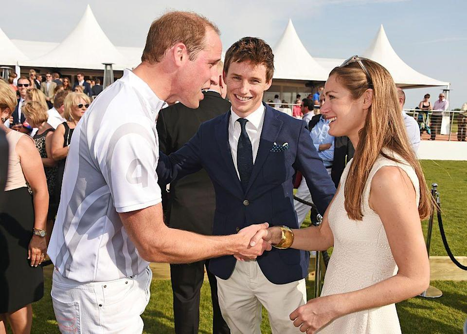 """<p>Both William and Redmayne attended the prestigious school Eton at the same time. In November 2018, Redmayne recalled playing rugby with the royal when speaking to <a href=""""https://www.youtube.com/watch?v=aYKB2sgJYSc"""" rel=""""nofollow noopener"""" target=""""_blank"""" data-ylk=""""slk:Andy Cohen on"""" class=""""link rapid-noclick-resp"""">Andy Cohen on </a><a href=""""https://www.youtube.com/watch?v=aYKB2sgJYSc"""" rel=""""nofollow noopener"""" target=""""_blank"""" data-ylk=""""slk:Watch What Happens Live!"""" class=""""link rapid-noclick-resp"""">Watch What Happens Live! </a></p><p>'Playing rugby with Prince William, I always felt a bit sorry for him because any school you played all they wanted to do was tackle Prince William so they could say, """"I tackled Prince William"""",' he revealed. 'So if you were standing next to Prince William like I was it was actually quite easy and quite fun.'</p>"""