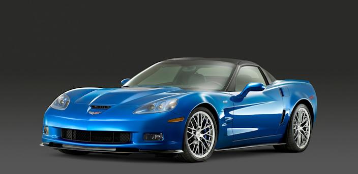 2008 Chevrolet Corvette ZR1.