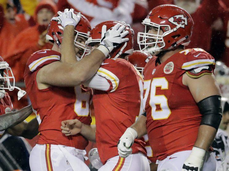 Kickoff of the Chiefs' home playoff game Sunday was moved to 8:20 p.m. ET.