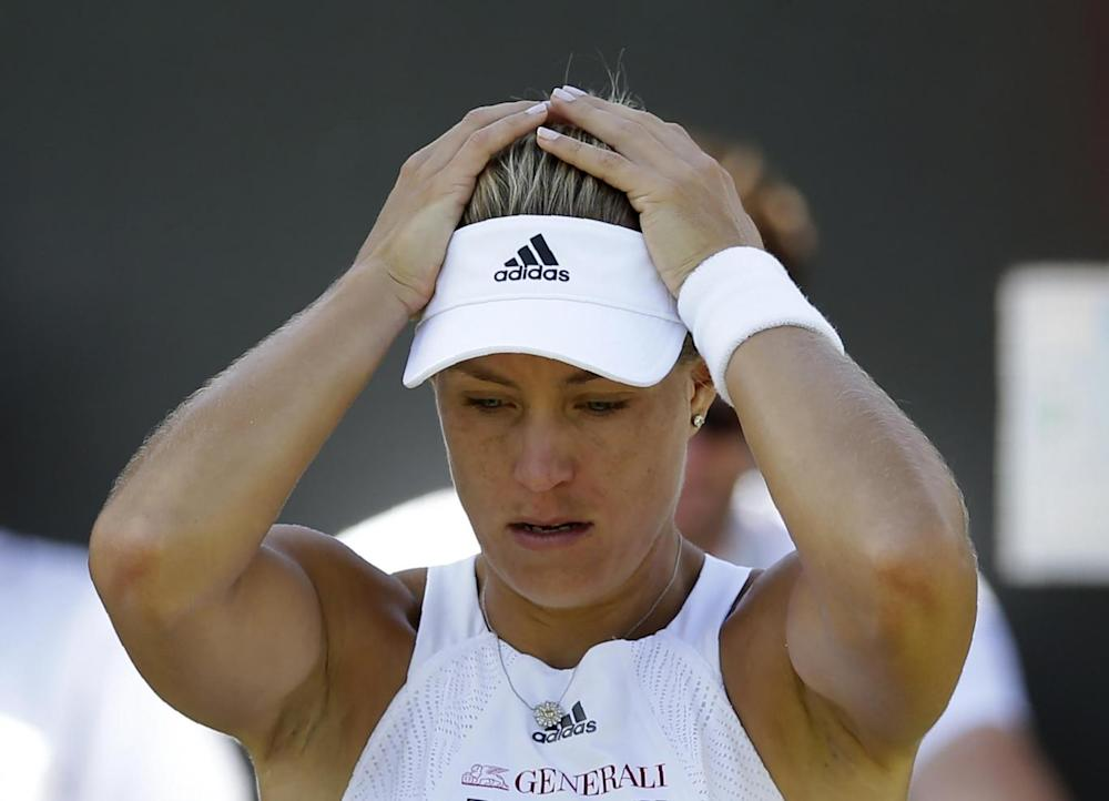 World No 1 Kerber played away from the spotlight's glare (Getty)