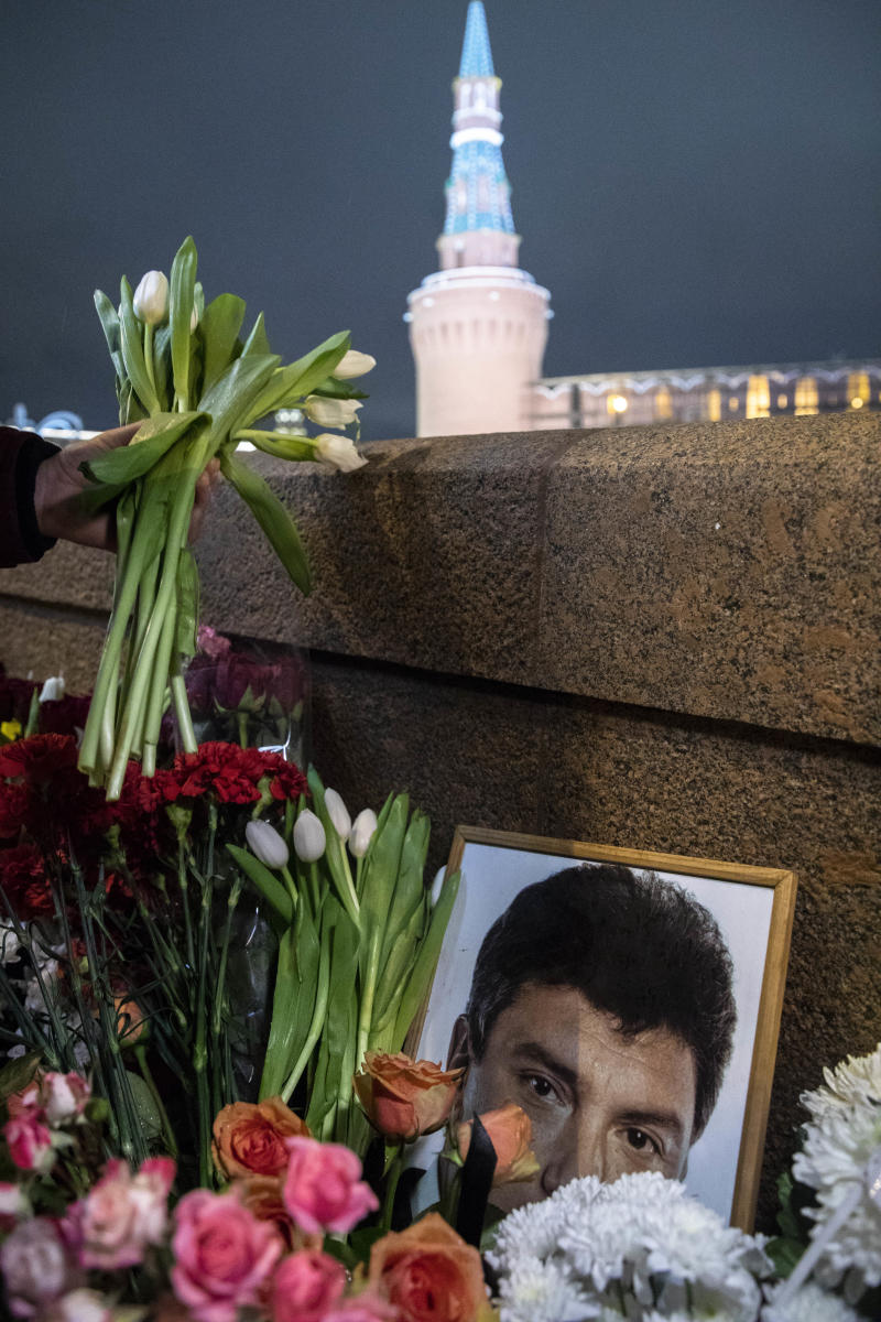 Boris Nemtsov shrine