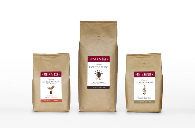 Pret A Manger will launch its first ever retail range on May 18. (Pret A Manger)
