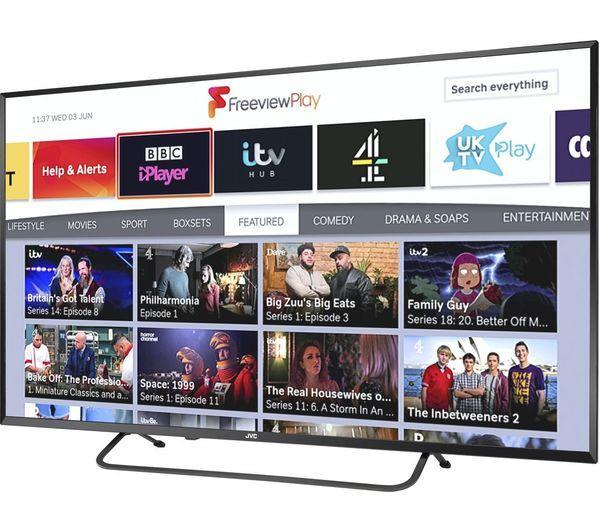 The smart TV has everything you could ever need. (Currys PC World)