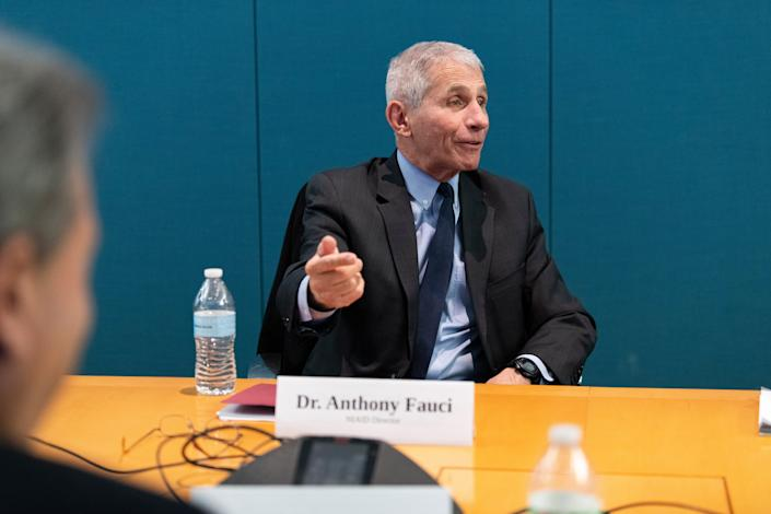 Anthony Fauci, director of the National Institute of Allergy and Infectious Diseases, says an effort to quarantine cruise passengers failed.