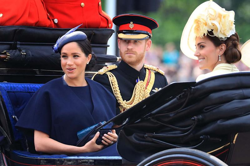 It will be the first family tour for the Sussexes after the birth of their son Archie. (PA)