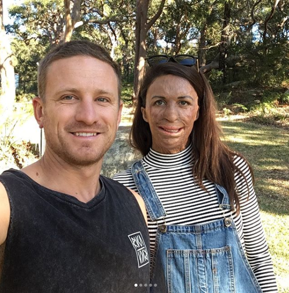 The happy couple have been sharing their pregnancy journey on social media. Photo: Instgram