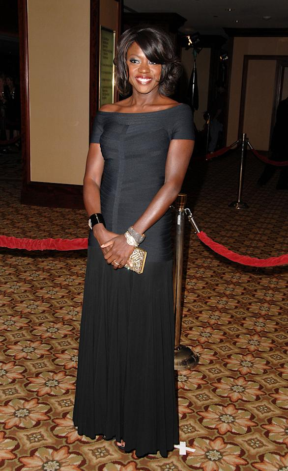 "<a href=""http://movies.yahoo.com/movie/contributor/1800315745"">Viola Davis</a> at the 61st Annual Directors Guild of America Awards in Los Angeles - 01/31/2009"