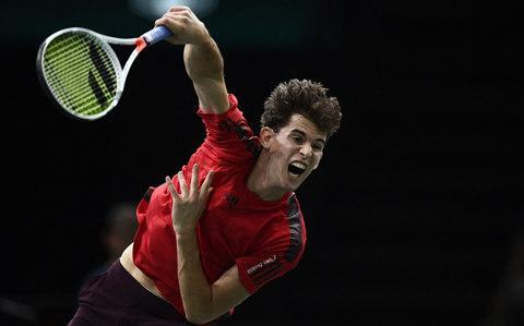 <span>What does Dominic Thiem have left in his locker?</span> <span>Credit: AFP </span>