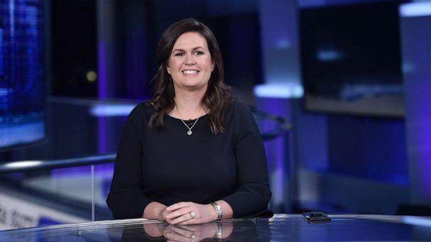 PHOTO: Sarah Huckabee Sanders appears on Fox News, Sept. 17, 2019, in New York City. (Steven Ferdman/Getty Images, FILE)