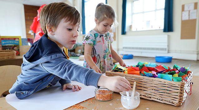 Tops Day Nurseries banned the use of glitter earlier this year over environmental concerns. Source: AAP