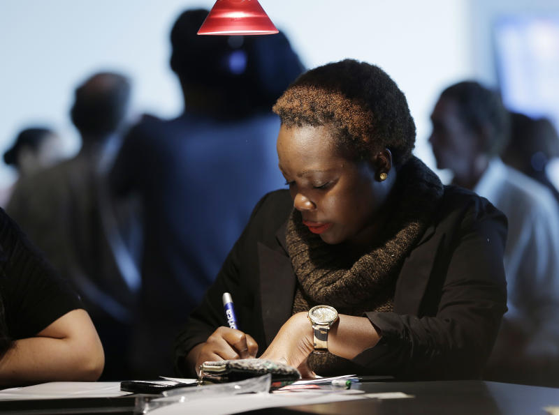 Claims for US jobless aid suggest modest hiring