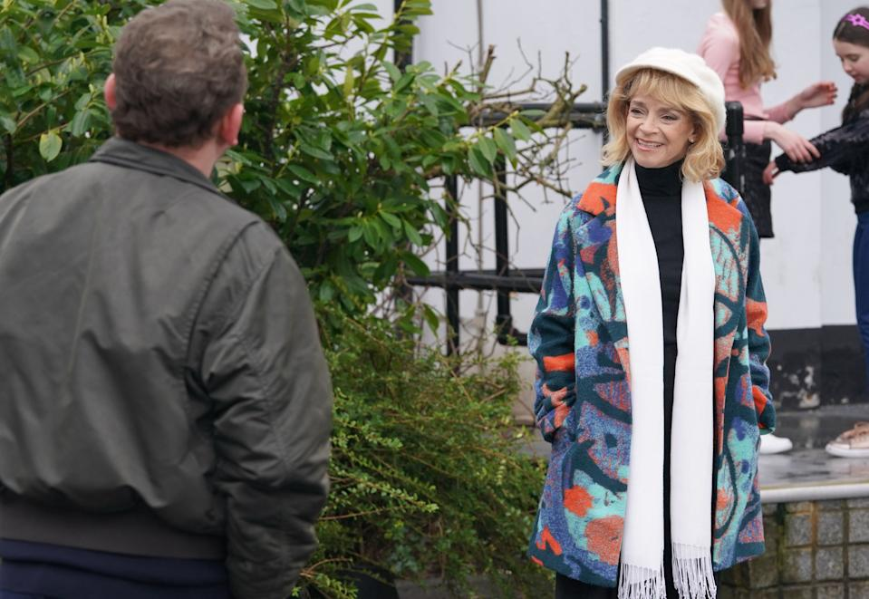 Sue Holderness in 'EastEnders' (BBC)