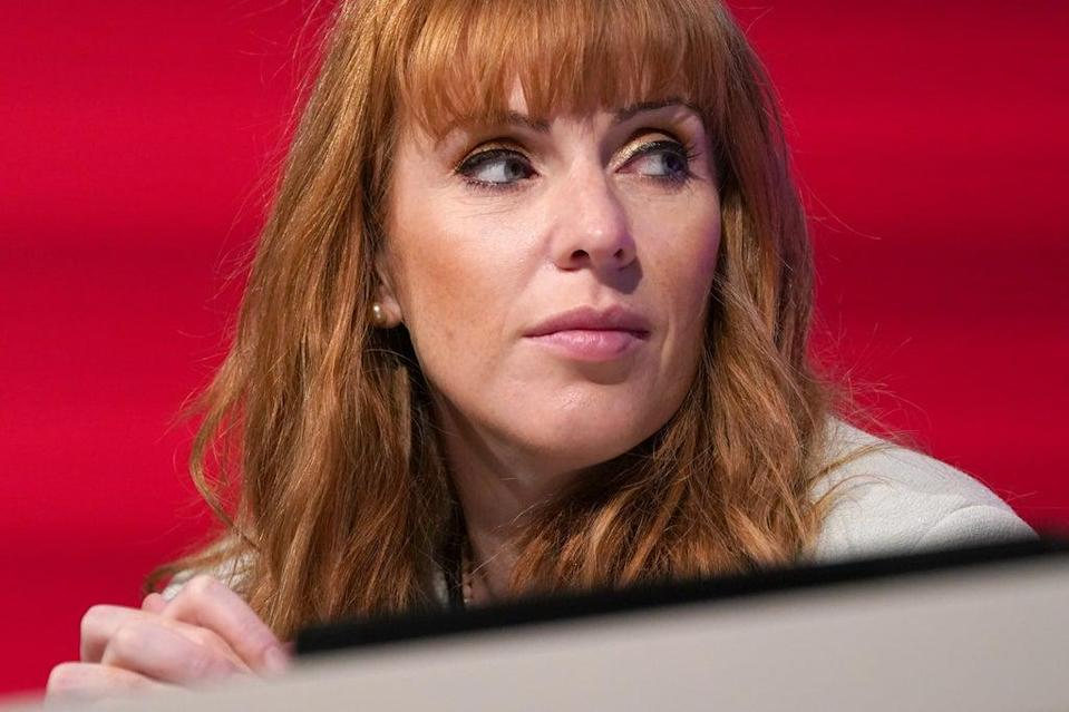 Labour Party deputy leader Angela Rayner (Gareth Fuller/PA) (PA Wire)
