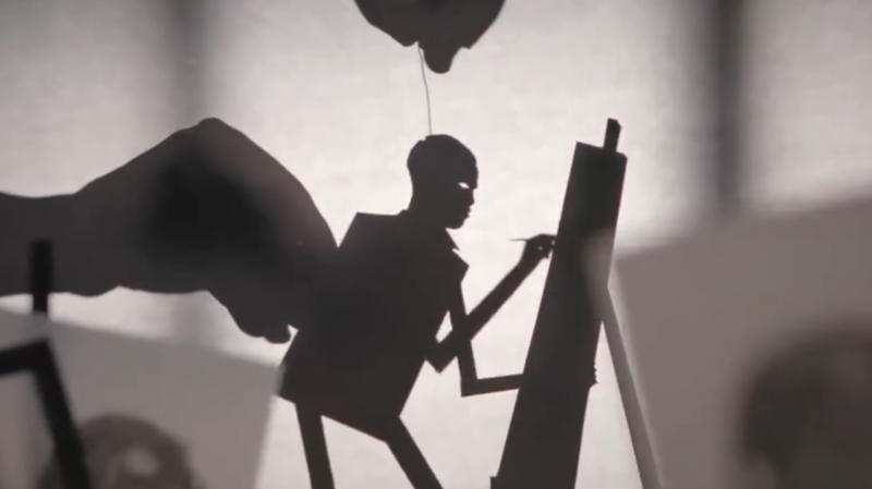 Nia DaCosta shared a stunning animated teaser for 'Candyman'. (Credit: Nia DaCosta/Twitter)