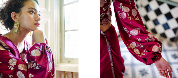 <p>Instead of the typical red, green and blue, brides should go for colours that are more pigmented, such as an acid yellow with purple blouse, teamed with a red dupatta for the traditional edge. Experiment with different designs and patterns. One can also go ahead with bright turquoise with a red element. </p>