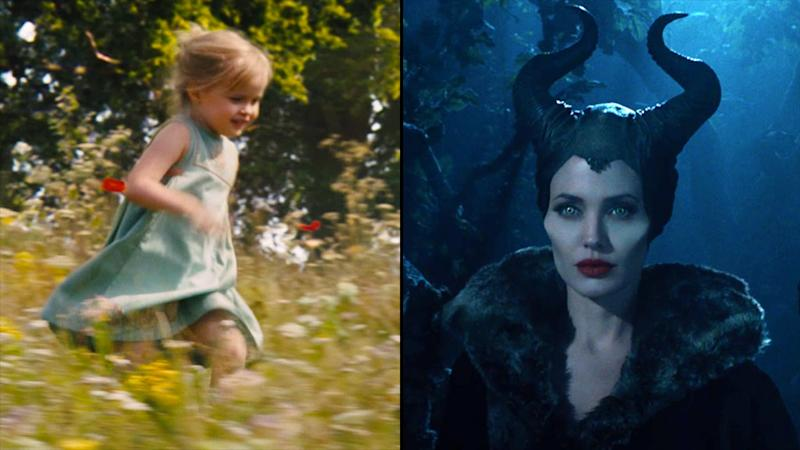 First Maleficent Trailer A True Family Affair For Angelina