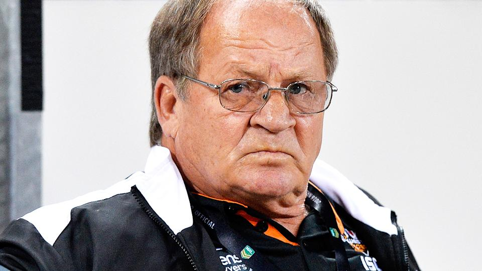 Tommy Raudonikis, pictured here during an NRL game in 2016.