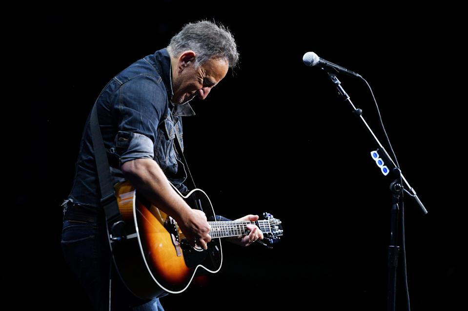 Springsteen on stage in 2019 (Getty Images for The Bob Woodruf)