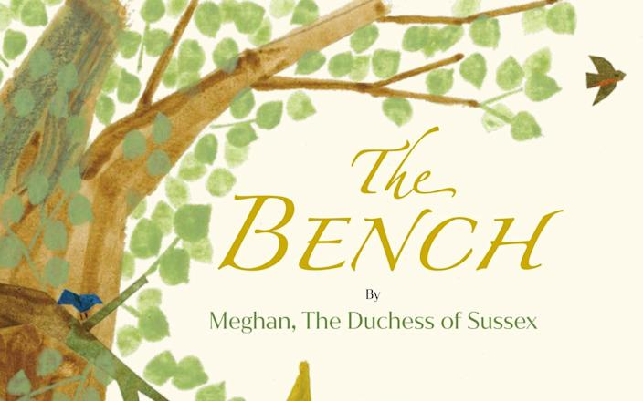 The Bench by the Duchess of Sussex - Random House Children's Books via AP
