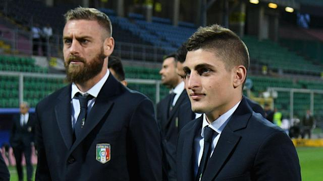 After starring alongside Marco Verratti for Italy on Friday, Daniele De Rossi lauded the Paris Saint-Germain midfielder.