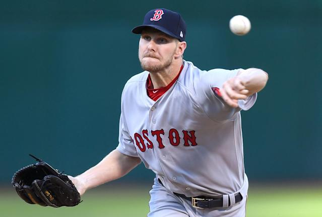 In 65 2/3 innings, Red Sox starter Chris Sale has 95 strikeouts and 13 walks. (Getty Images)
