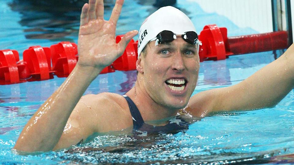 Klete Keller, pictured here at the 2008 Beijing Olympic Games.