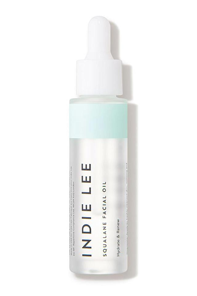 """<p><strong>Indie Lee</strong></p><p>dermstore.com</p><p><strong>$34.00</strong></p><p><a rel=""""nofollow"""" href=""""https://www.dermstore.com/product_Squalane+Facial+Oil_52983.htm"""">Shop Now</a></p><p>When it comes to products for sensitive skin, the ingredients <em>not</em> found in your formula are as important as the ones that are. Overall, stick to a stripped-down ingredient list (the more ingredients, the more opportunity for irritation or breakouts). This oil relies on just one thing: squalane, a hydrator derived from olives that works to repair your skin's moisture barrier and keep it happy.</p><p>And, since this lightweight oil leaves no greasy residue, you can use it both morning and night.<br></p>"""