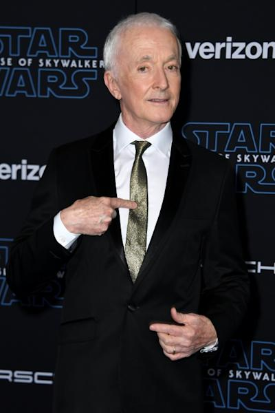 "English actor Anthony Daniels has played droid C-3PO in every main ""Star Wars"" film"