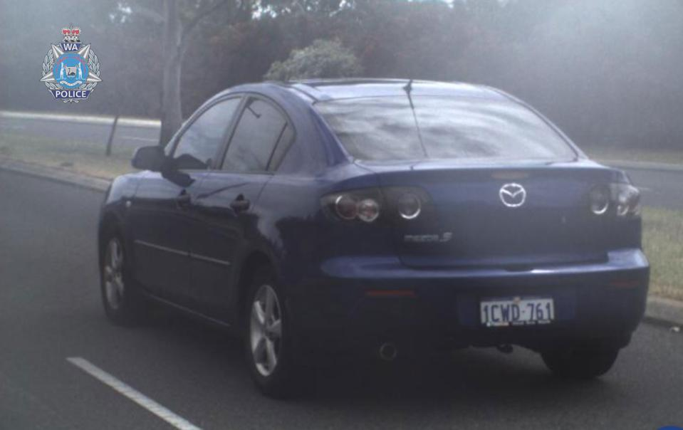 Police are also hoping ti locate Mr Nguyen's blue Mazda 3 sedan with registration '1CWD 761'.Source: WA Police