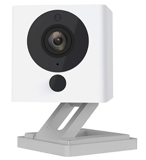 Wyze Cam v2 1080p HD Wireless Smart Home Camera with Night Vision, 2-Way Audio, Free Cloud, for iOS and Android (US Version). Image via Amazon.