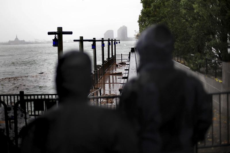 Rising Seas Mean More Flooding Will Be Coming to New York City