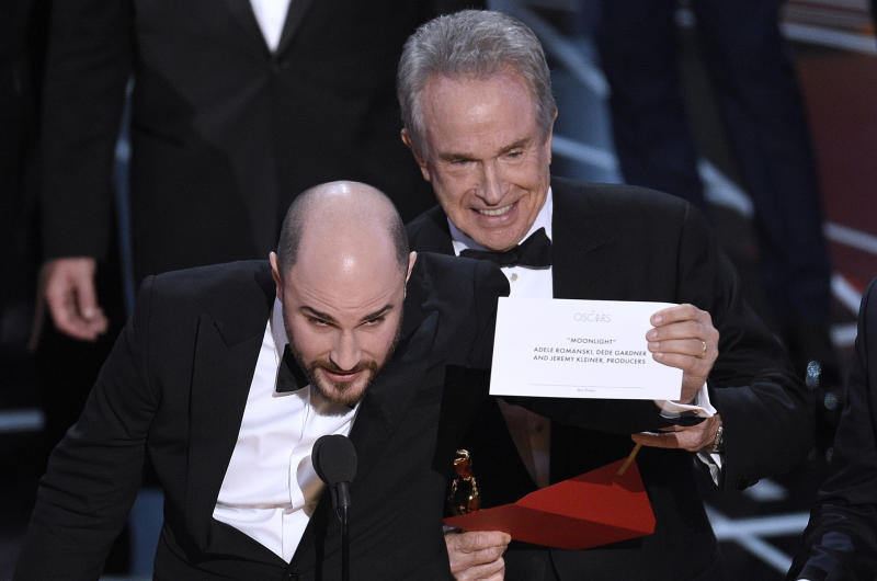What It Feels Like to Suddenly Realize You Didn't Actually Win That Oscar